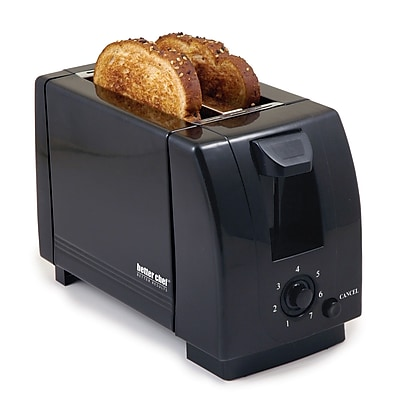 Better Chef® Two Slice Toaster, Black
