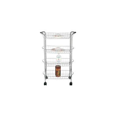 Better Chef® SR-4 4 Tier Storage Cart, Chrome