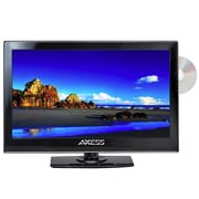 "Axess® 15.4"" LED AC/DC TV With DVD Player"