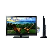 "Axess® 19"" LED AC/DC TV With DVD Player"