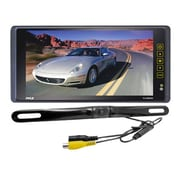 """Pyle® PLCM9200 9.2"""" TFT/LCD Mirror Monitor With License Plate Mount Rearview Backup Color Camera"""