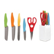 Gibson Colorsplash Primary Basics Preparation Cutlery Set, 6 Piece