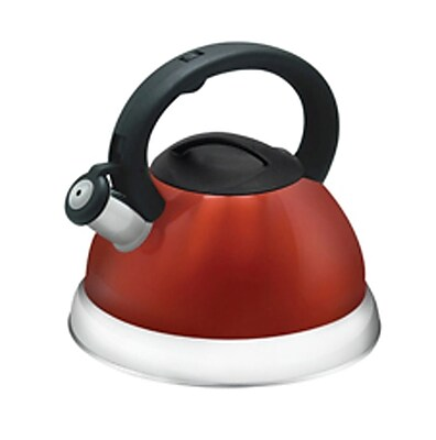 Better Chef® 3 Liter Whistling Tea Kettle, Red