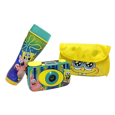 Nickelodeon SpongeBob Squarepants Flashlight and Camera Kit