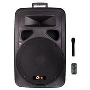 QFX SBX-1550BT 2600 W PMPO Speaker Built-in Amplifier Bluetooth