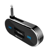 SuperSonic 93584039M Hands Free FM Transmitter for Apple iPhone 5 and MP3 Player, Black