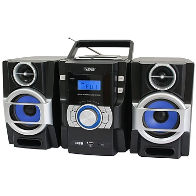 Naxa® NPB-429 Portable MP3/CD Player With PLL FM Radio/USB Input