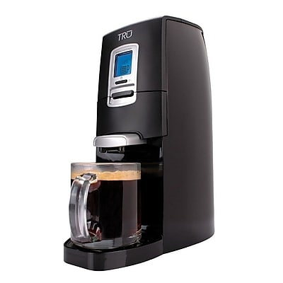 Tru Single Serve Coffee Maker, Black 284300