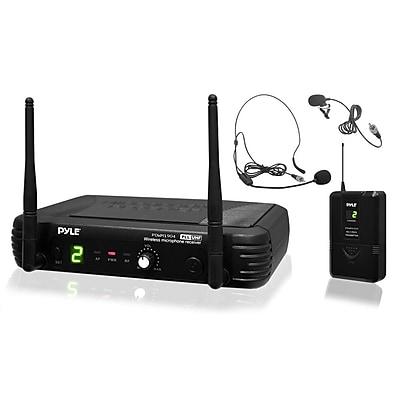 Pyleaudio 93584128M Wireless Microphone, Black