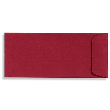 LUX Peel & Press #10 Open End Envelopes (4 1/8 x 9 1/2) 1000/Box, Garnet (EX7716-26-1000)
