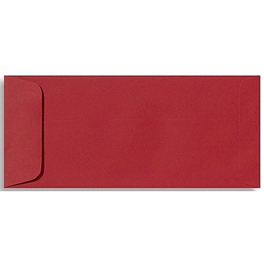 LUX #10 Open End Envelopes (4 1/8 x 9 1/2) 50/box, Ruby Red (EX7716-18-50)