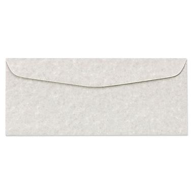 LUX #10 Regular Envelopes (4 1/8 x 9 1/2) 50/box, Gray Parchment (6660-13-50)