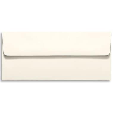 LUX Moistenable Glue #10 Square Flap Envelopes (4 1/8 x 9 1/2) 250/Box, Natural (5869-01-250)