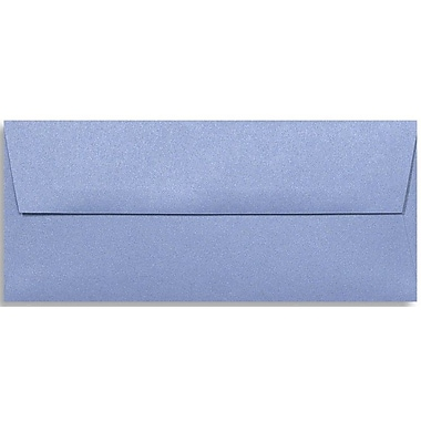 LUX Peel & Press #10 Square Flap Envelopes (4 1/8 x 9 1/2) 250/Box, Vista Metallic (5360-29-250)
