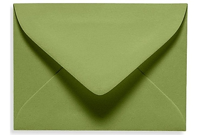 LUX #17 Mini Envelope (2 11/16 x 3 11/16) 50/Box, Avocado (EXLEVC-27-50)