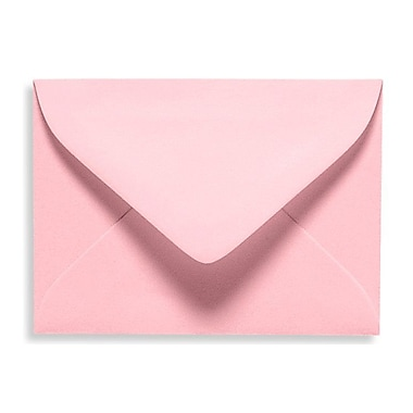 LUX #17 Mini Envelope (2 11/16 x 3 11/16), Candy Pink, 50/Box (EXLEVC-14-50)