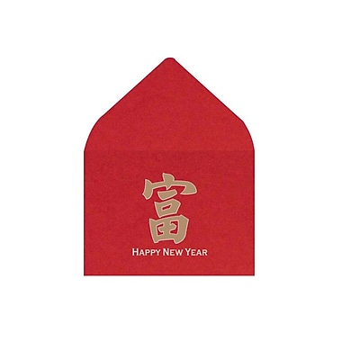 LUX #17 Mini Envelopes (2 11/16 x 3 11/16) 1000/Box, Chinese New Year (LEVC-96-1000)