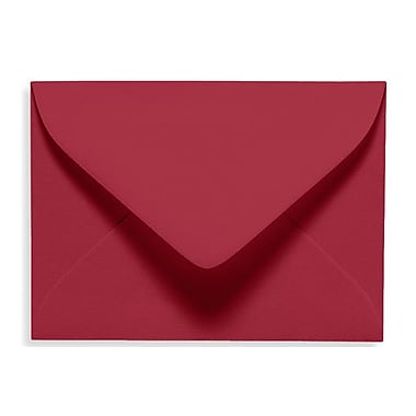 LUX #17 Mini Envelope (2 11/16 x 3 11/16), Garnet, 500/Box (EXLEVC-26-500)