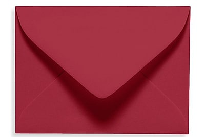 LUX #17 Mini Envelope (2 11/16 x 3 11/16) 50/Box, Garnet (EXLEVC-26-50)