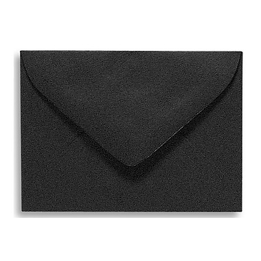LUX #17 Mini Envelopes (2 11/16 x 3 11/16) 250/Box, Midnight Black (MINBLK-250)