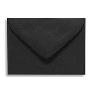 LUX #17 Mini Envelopes (2 11/16 x 3 11/16) 250/Box, Midnight Black (MINBLK-250)