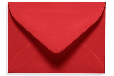 LUX #17 Mini Envelope (2 11/16 x 3 11/16) 50/Box, Ruby Red (EXLEVC-18-50)