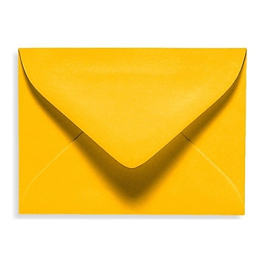 LUX #17 Mini Envelope (2 11/16 x 3 11/16) 1000/Box, Sunflower (EXLEVC-12-1000)