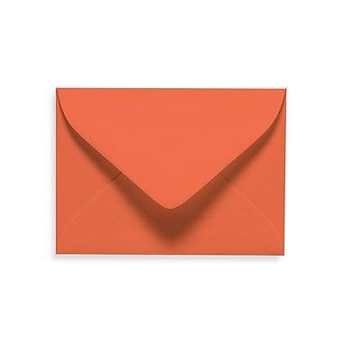LUX #17 Mini Envelopes (2 11/16 x 3 11/16) 50/Box, Tangerine (LUXLEVC-112-50)