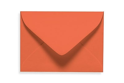 LUX #17 Mini Envelopes (2 11/16 x 3 11/16) 500/Box, Tangerine (LUXLEVC-112-500)