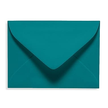 LUX #17 Mini Envelope (2 11/16 x 3 11/16), Teal, 50/Box (EXLEVC-25-50)