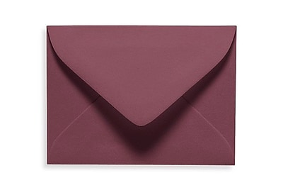 LUX #17 Mini Envelopes (2 11/16 x 3 11/16) 50/Box, Vintage Plum (LUXLEVC-104-50)