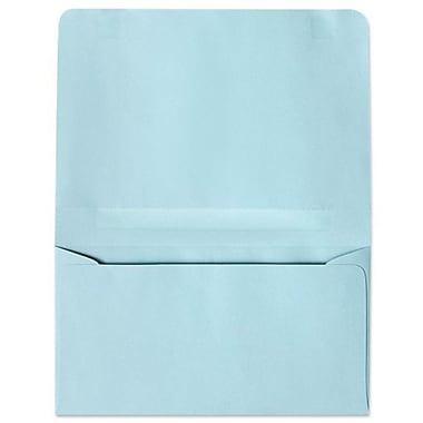LUX #6 2-Way Envelopes (4 1/4 x 6 1/2 Closed) 500/box, Pastel Blue (R3874-500)