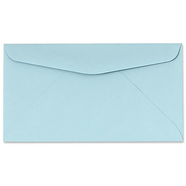 LUX #6 3/4 Regular Envelopes (3 5/8 x 6 1/2) 50/box, Pastel Blue (76245-50)