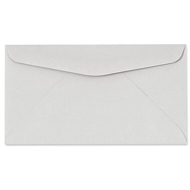 LUX #6 3/4 Regular Envelopes (3 5/8 x 6 1/2) 50/box, Pastel Gray (63224-50)