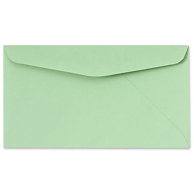 LUX #6 3/4 Regular Envelopes (3 5/8 x 6 1/2) 50/box, Pastel Green (72652-50)