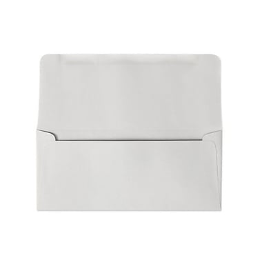 LUX #9 Remittance Envelopes (3 7/8 x 8 7/8 Closed) 500/box, Pastel Gray (R2177-500)