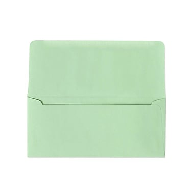 LUX #9 Remittance Envelopes (3 7/8 x 8 7/8 Closed) 500/box, Pastel Green (R2175-500)