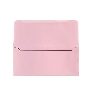 LUX #9 Remittance Envelopes (3 7/8 x 8 7/8 Closed) 500/box, Pastel Pink (R2174-500)