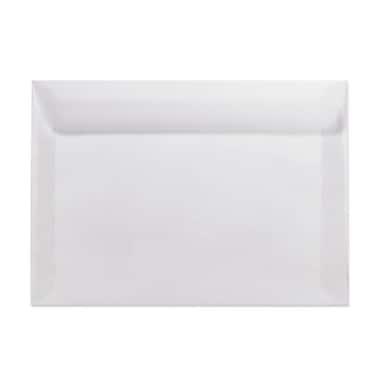 LUX 10 x 13 Booklet Envelopes 50/Box, Clear Translucent (E4898-00-50)