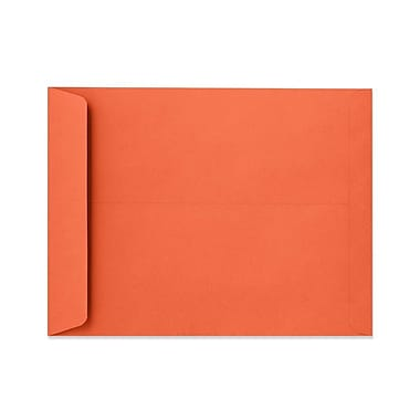 LUX 10 x 13 Open End Envelopes 500/Box, Holiday Red (FE-7300-15-500)