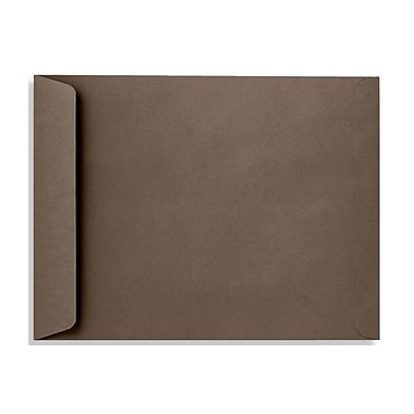 LUX 10 x 13 Open End Envelopes 50/Box, Chocolate (EX4897-17-50)