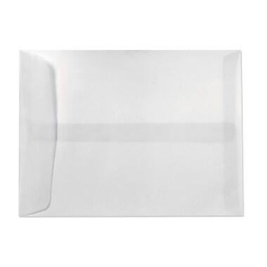 LUX 10 x 13 Open End Envelopes 50/Box, Clear Translucent (E4897-50-50)