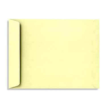 LUX 10 x 13 Open End Envelopes 50/Box, Lemonade (EX4897-15-50)