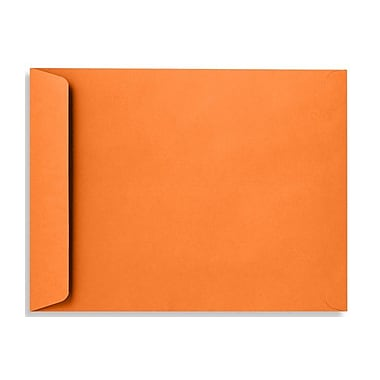 LUX 10 x 13 Open End Envelopes 50/Box, Mandarin (EX4897-11-50)