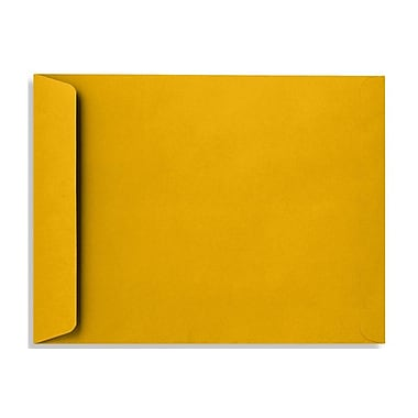 LUX 10 x 13 Open End Envelopes 500/Box, Sunflower (EX4897-12-500)