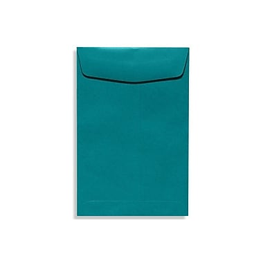 LUX 10 x 13 Open End Envelopes 50/Box, Teal (EX4897-25-50)