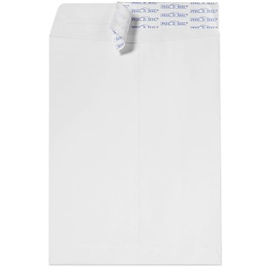 LUX 12 x 15 1/2 Open End Envelopes 50/Box, White (17318-50)
