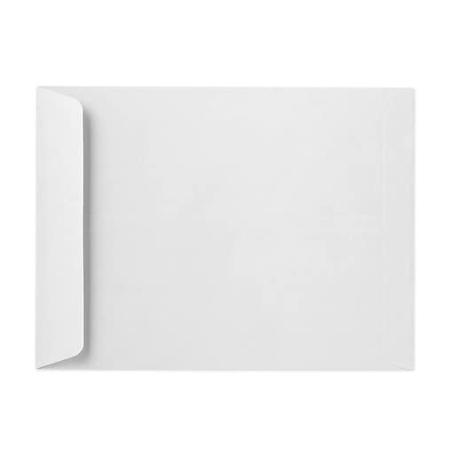 """LUX® 13"""" x 19"""" 28lbs. Jumbo Open End Envelopes, Bright White, 50/Pack"""