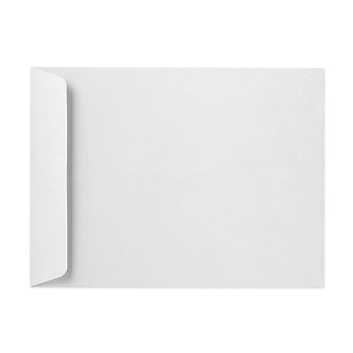 "LUX® 16"" x 20"" 28lbs. Jumbo Open End Envelopes, Bright White, 50/Pack"