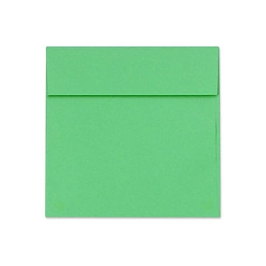 LUX 5 1/2 x 5 1/2 Square Envelopes 250/Box) 250/Box, Holiday Green (8515-12-250)
